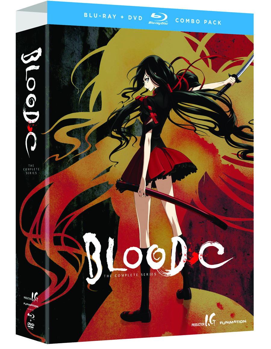 BLOOD C COMP SER BD + DVD