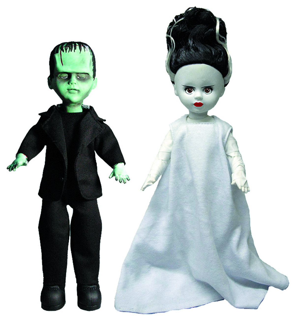 LIVING DEAD DOLLS FRANKENSTEIN/BRIDE DOLL ASST
