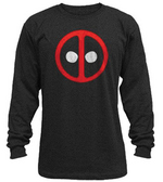 DEADPOOL PX BLACK THERMAL SHIRT LG