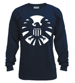 SHIELD NIGHT SHIELD PX NAVY THERMAL SHIRT LG