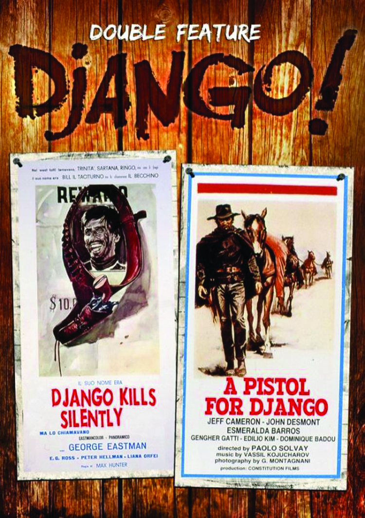 PISTOL FOR DJANGO/DJANGO KILLS SILENTLY DVD