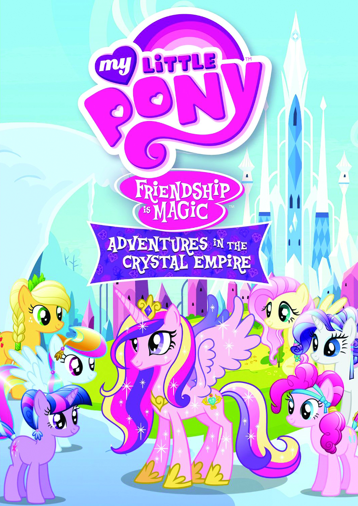 MY LITTLE PONY ADVENTURES CRYSTAL EMPIRE DVD