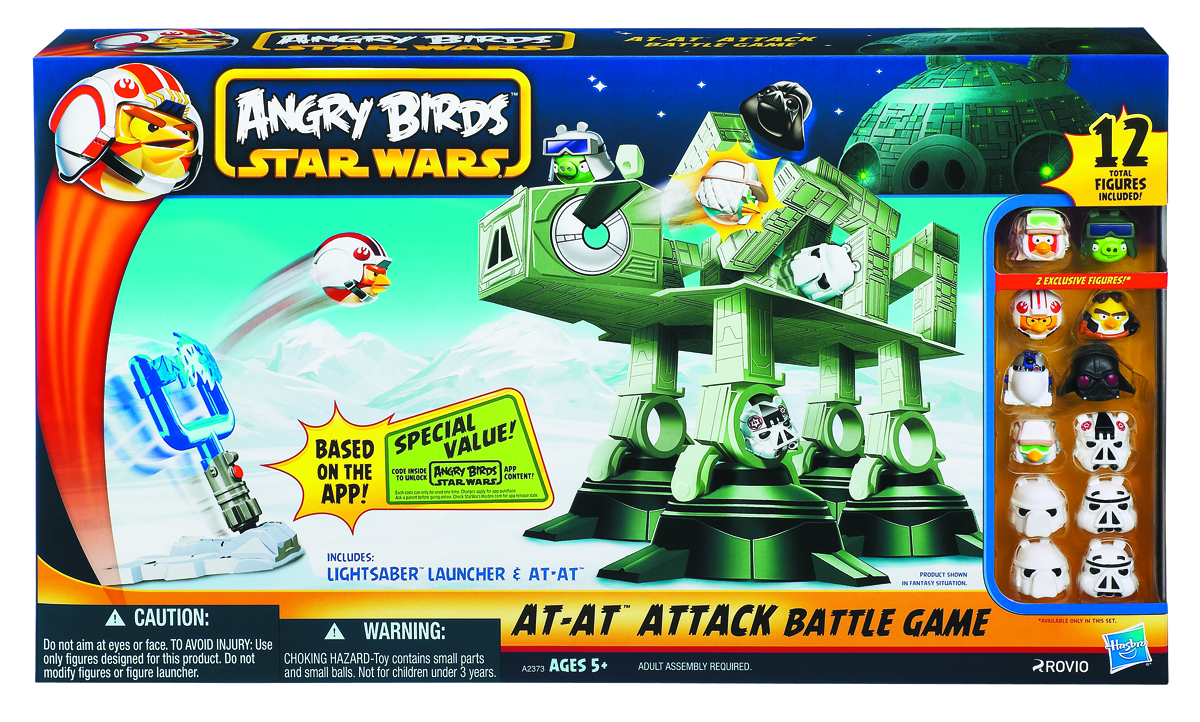 SW ANGRY BIRDS AT-AT ATTACK
