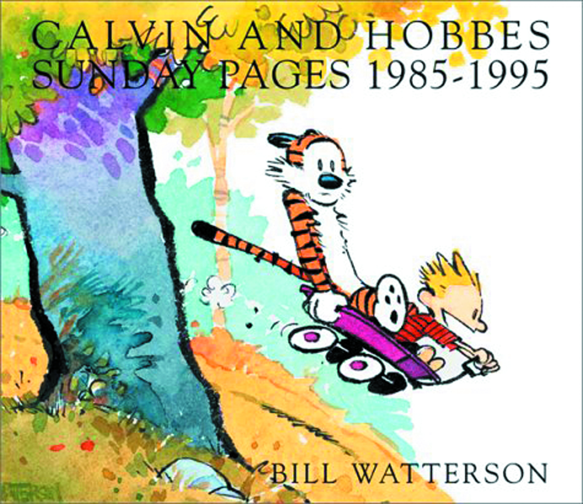 CALVIN & HOBBES SUNDAY PAGES SC 1985-1995