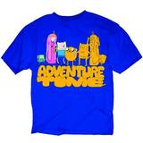 ADVENTURE TIME CLONED FRIENDS PX BLUE T/S MED