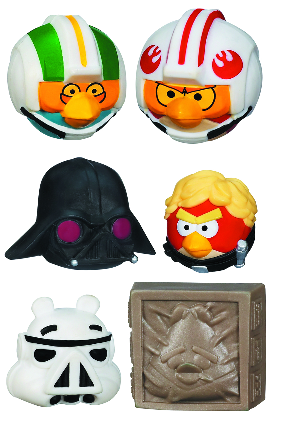 STAR WARS ANGRY BIRDS BMB DISPLAY
