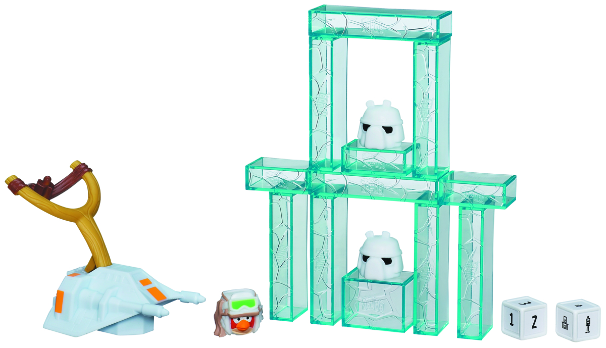 SW ANGRY BIRDS JENGA LAUNCHER GAME ASST