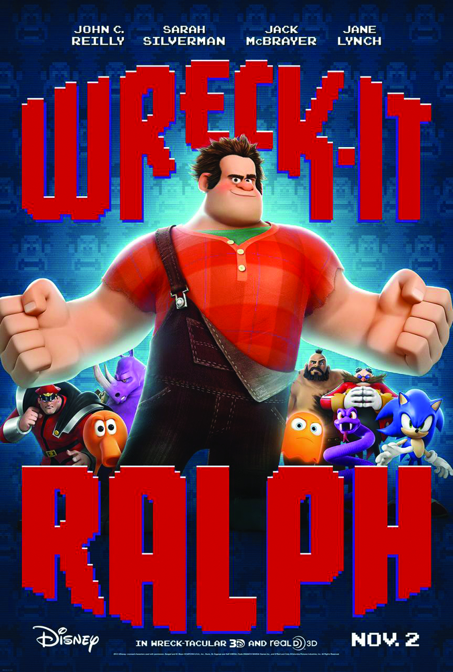 WRECK-IT RALPH BD + DVD