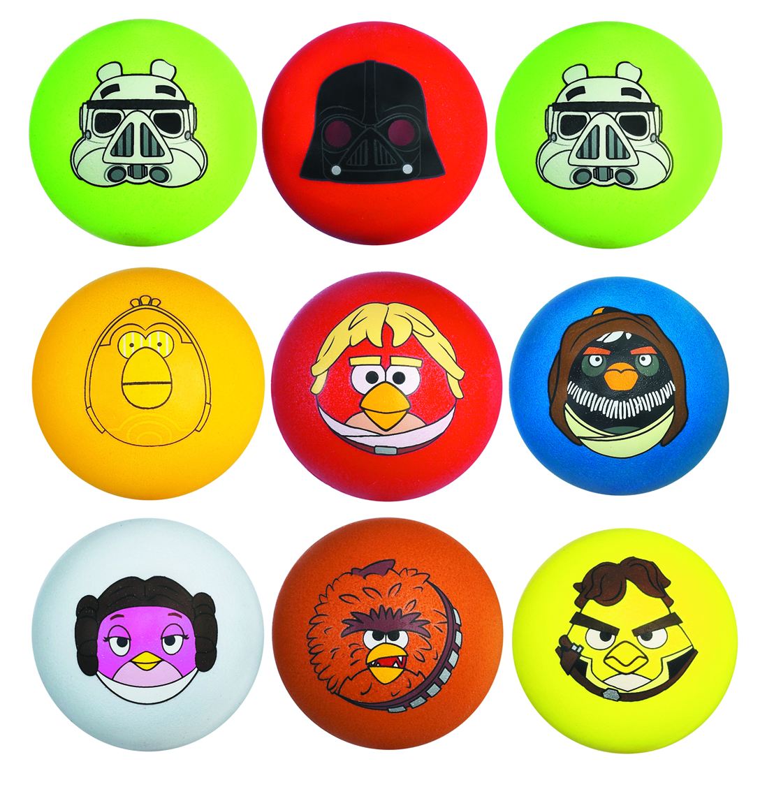 STAR WARS ANGRY BIRDS KOOSH BALL REFILL ASST