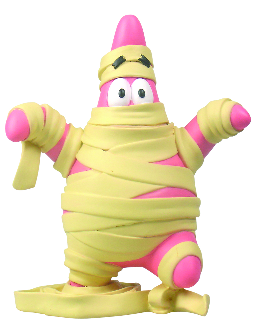 SPONGEBOB MINI FIG WORLD MUMMY PATRICK
