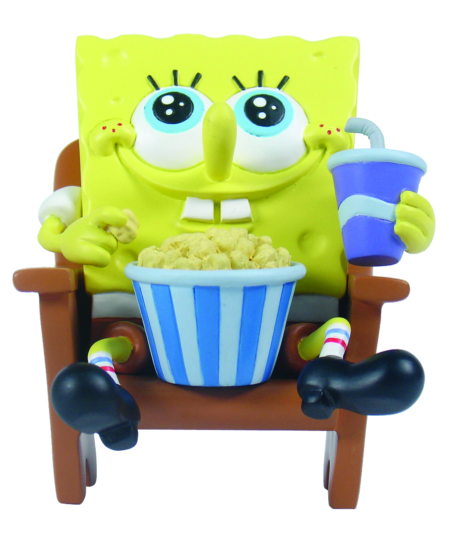 SPONGEBOB MINI FIG WORLD SPONGEBOB AT THE MOVIES