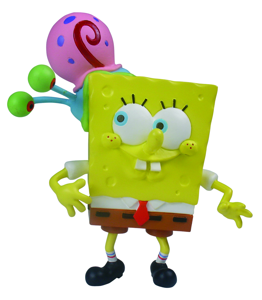 SPONGEBOB MINI FIG WORLD SPONGEBOB PLAYING W/GARY