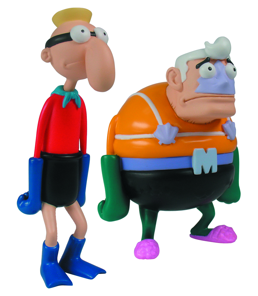 SPONGEBOB MINI FIGURE WORLD MERMAIDMAN SET