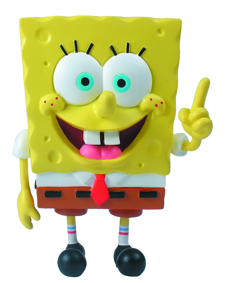 SPONGEBOB MINI FIGURE WORLD SPONGEBOB POINTING