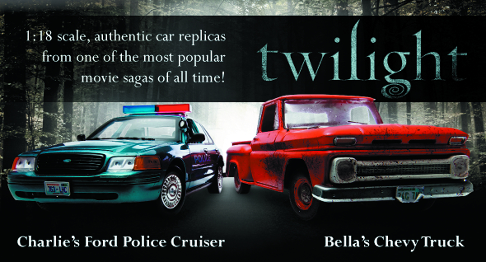 TWILIGHT BELLA 1963 CHEVY TRUCK 1/18 DIE-CAST