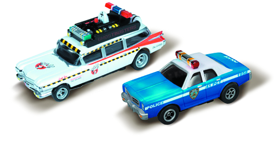 AW GHOSTBUSTERS HAUNTED HWY SLOT CAR SET