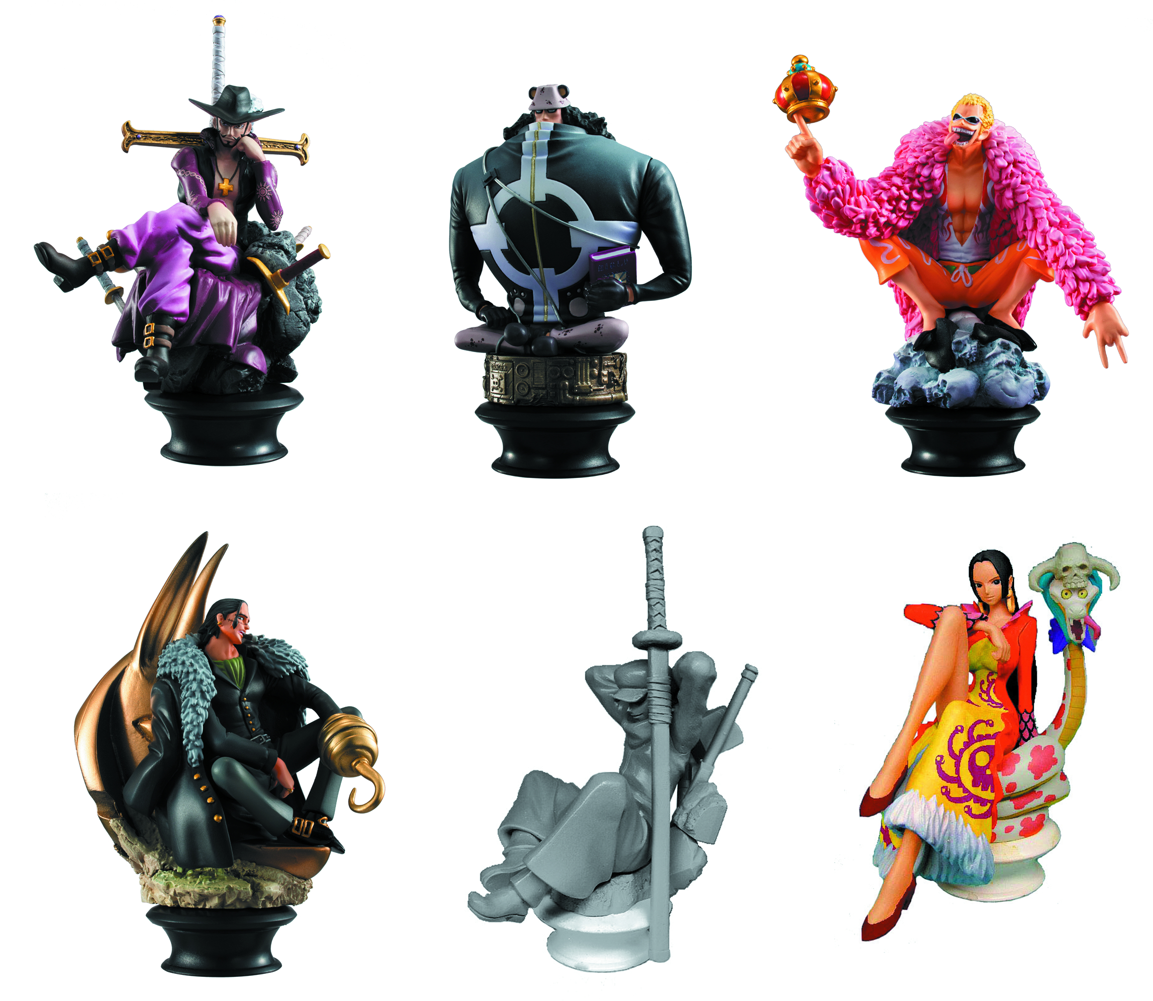 ONE PIECE CHESS PIECE COLL 6PC BMB DS VOL 3
