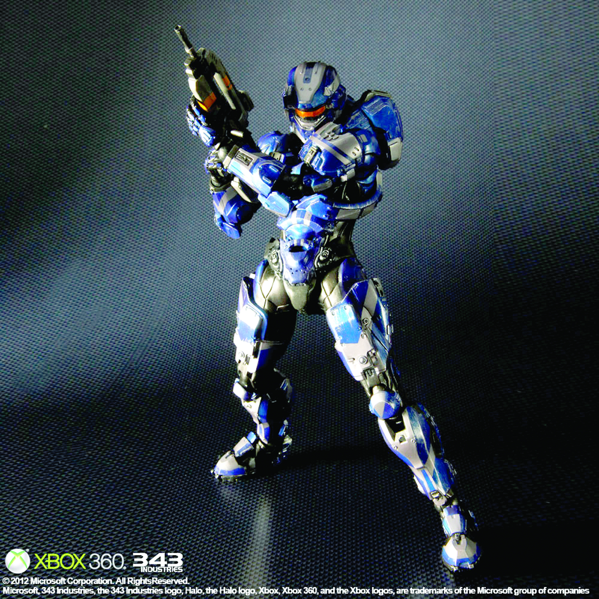 HALO 4 PLAY ARTS KAI SPARTAN WARRIOR AF