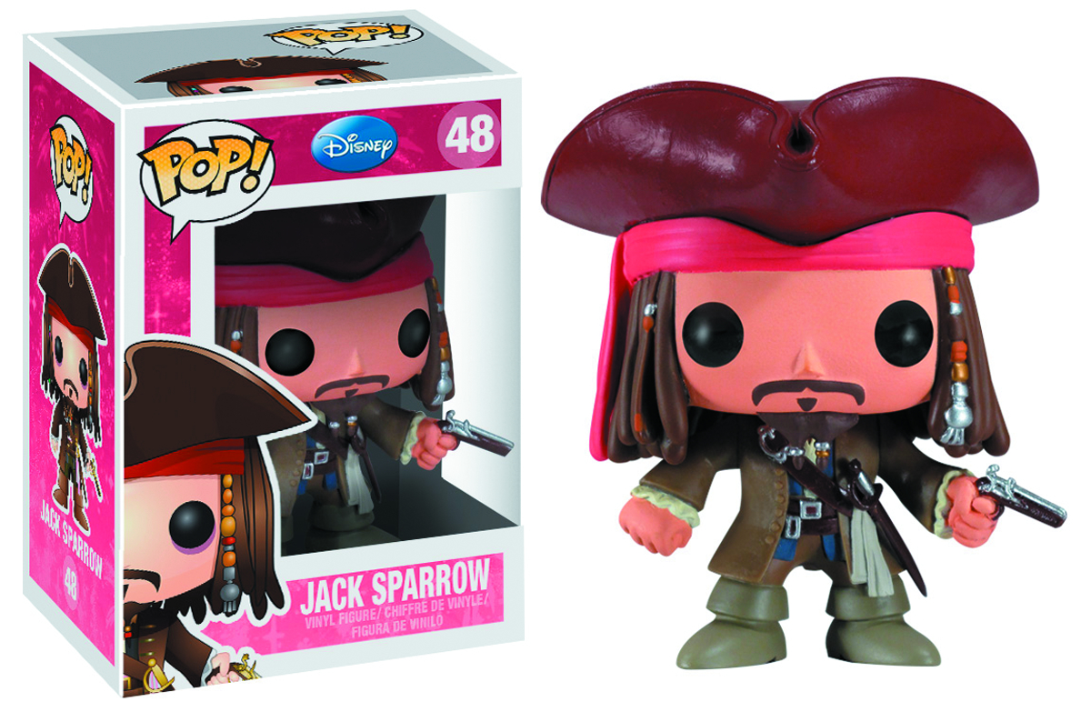 POP DISNEY JACK SPARROW VINYL FIG