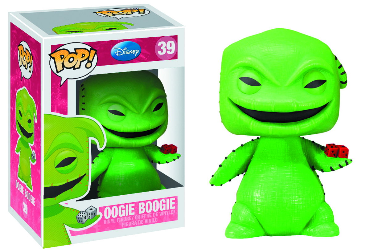 POP DISNEY OOGIE BOOGIE VINYL FIG