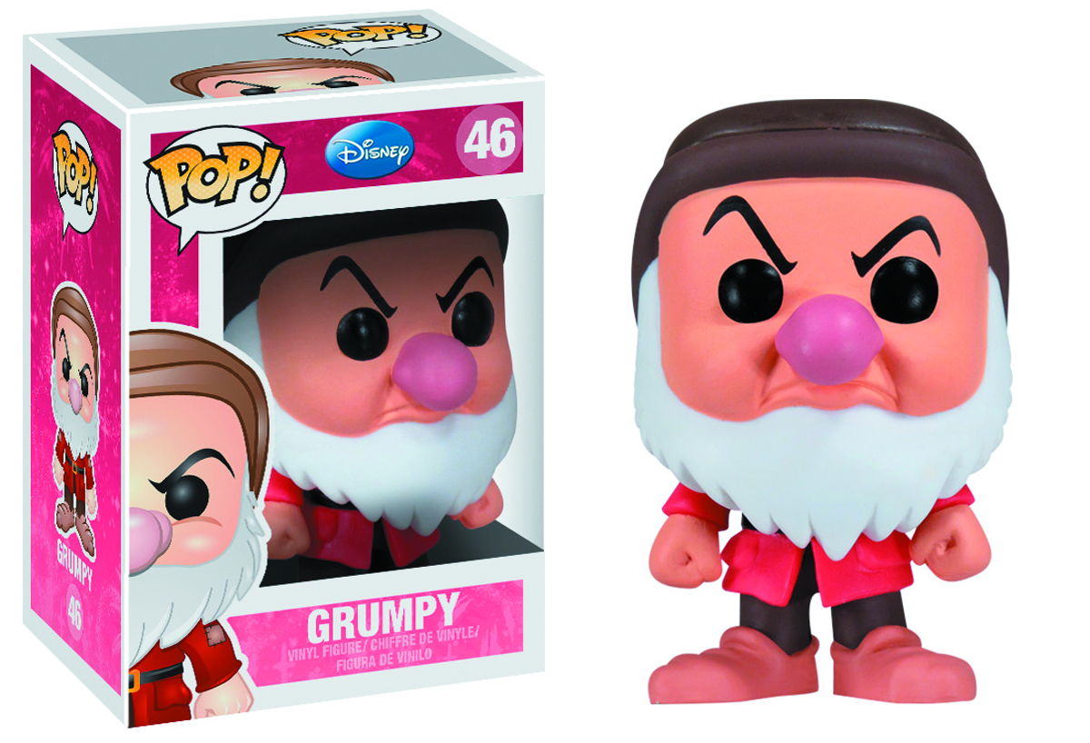 POP DISNEY GRUMPY VINYL FIG