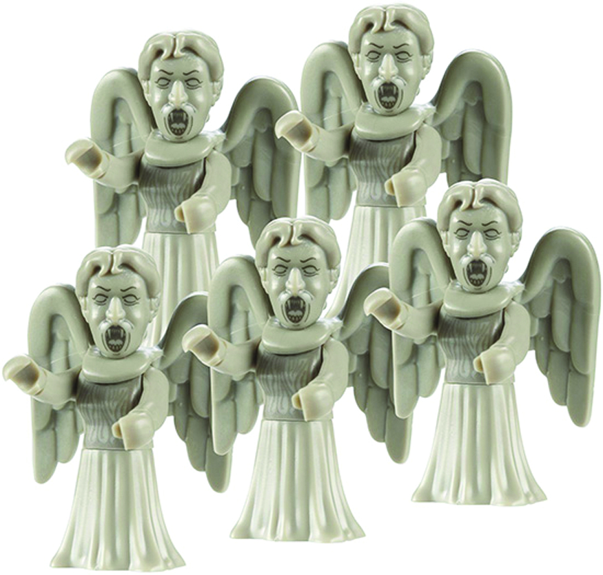 DOCTOR WHO CHAR BUILDING WEEPING ANGEL 5PK