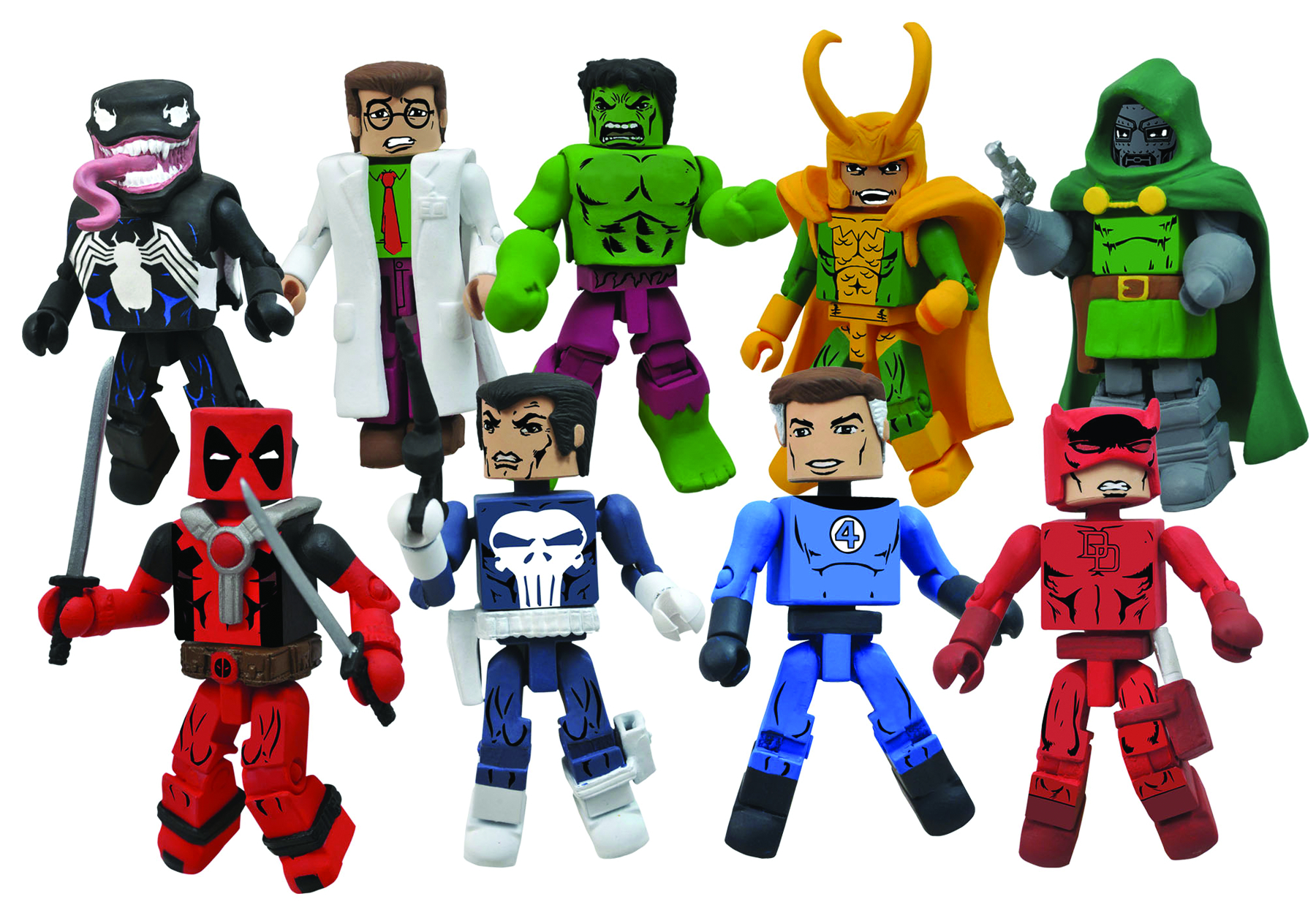 MARVEL MINIMATES BEST OF SERIES 2 ASST