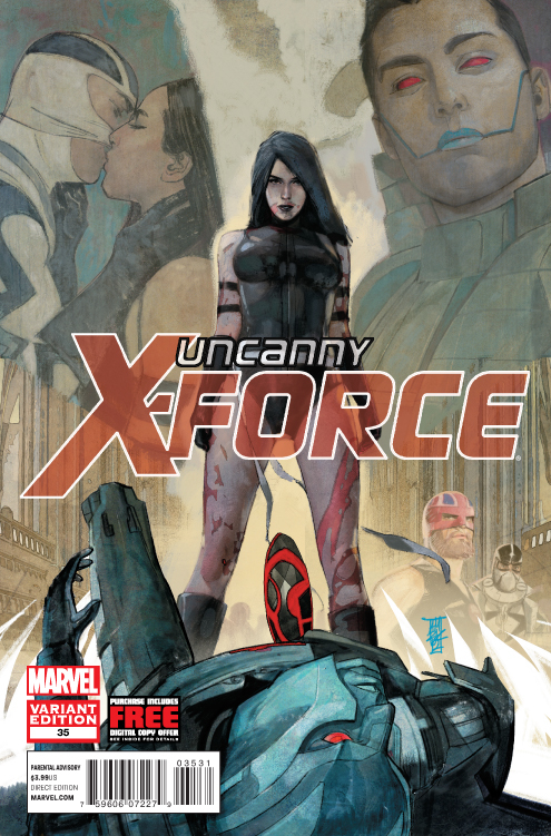 UNCANNY X-FORCE #35 MALEEV FINAL VAR