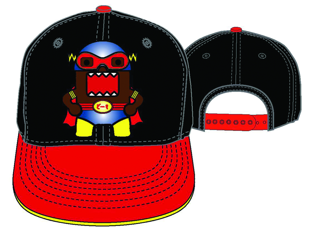 SUPERHERO DOMO EMBROIDERED SNAP BACK CAP