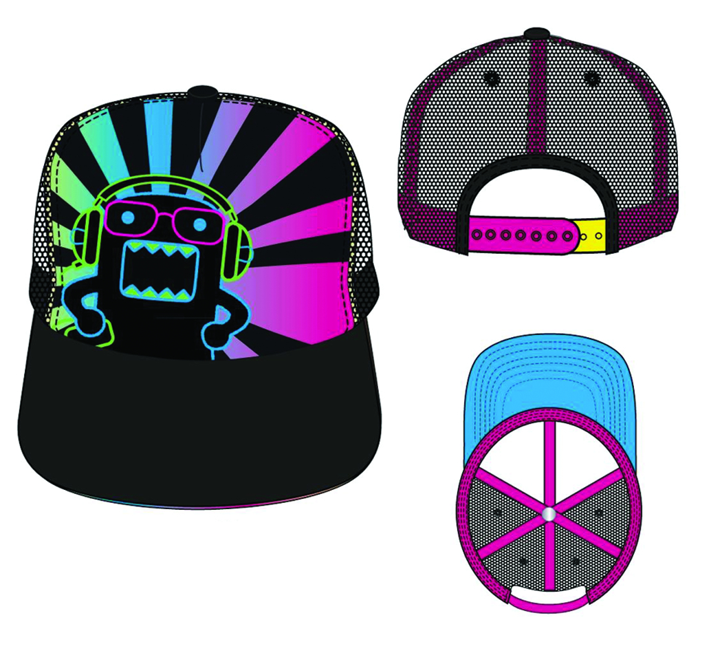 DOMO SUBLIMATED TRUCKER SNAP BACK CAP