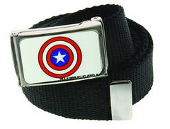 CAPTAIN AMERICA SHIELD WEB BELT