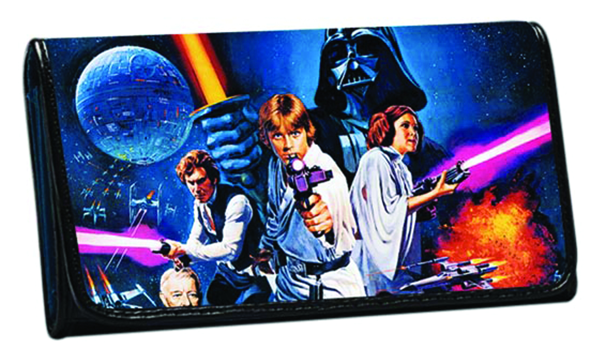 STAR WARS POSTER WOMENS WALLET