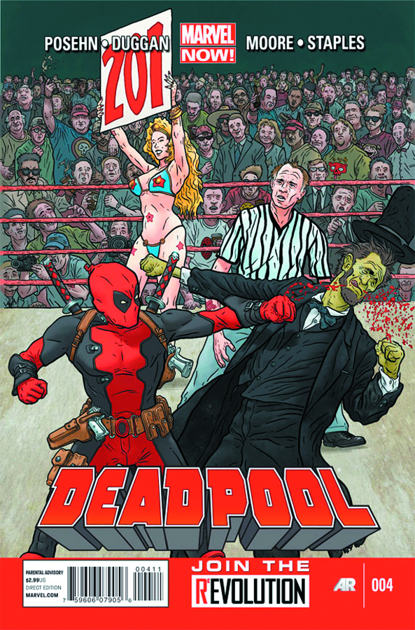DEADPOOL #4 NOW