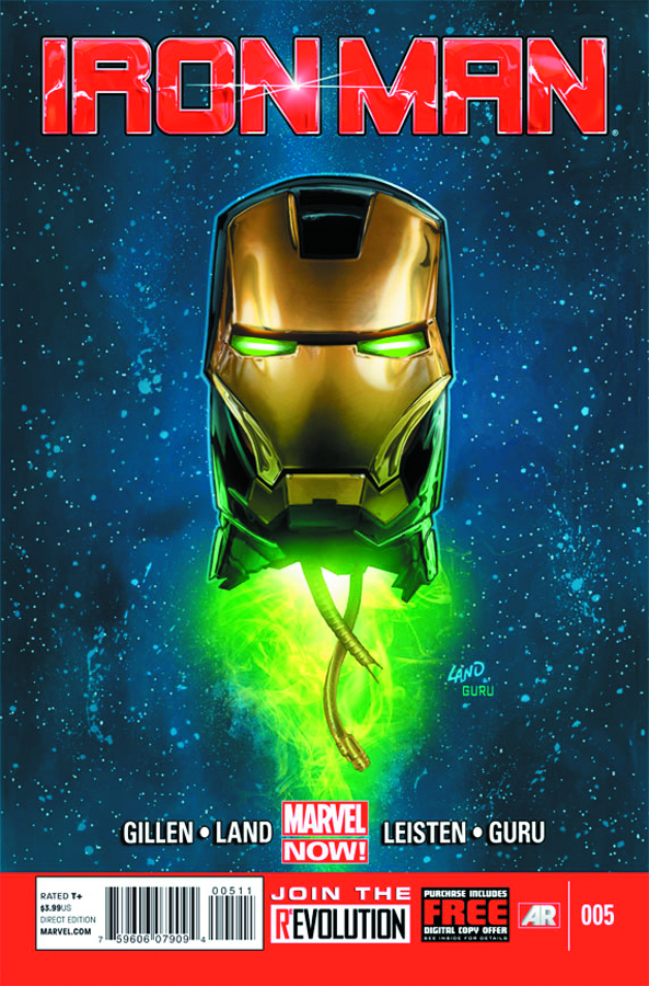 IRON MAN #5 NOW