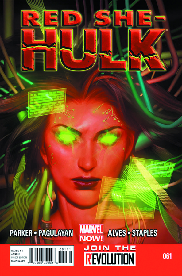 RED SHE-HULK #61 NOW