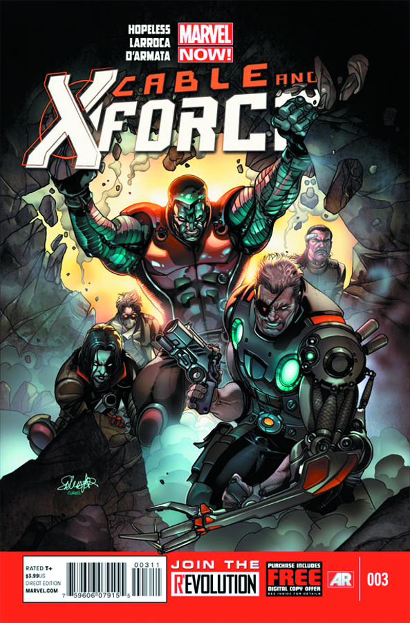 CABLE AND X-FORCE #3 NOW