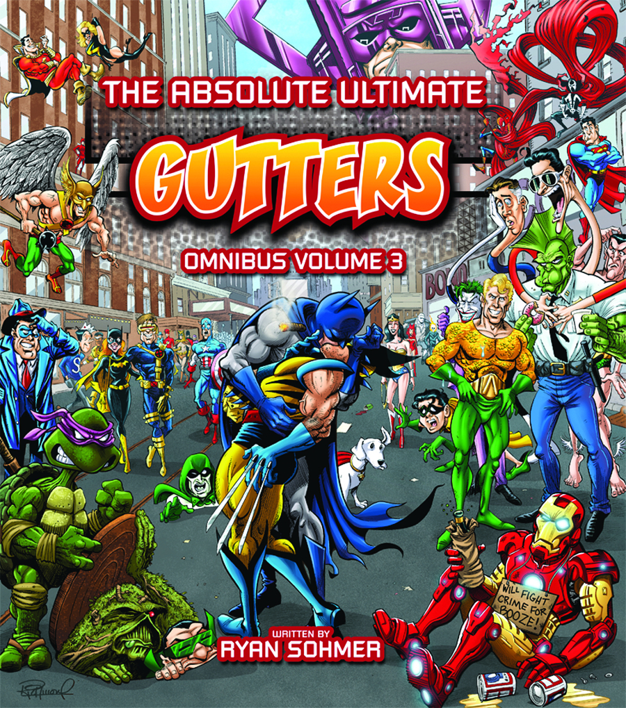GUTTERS ABSOLUTE COMPLETE OMNIBUS HC VOL 03