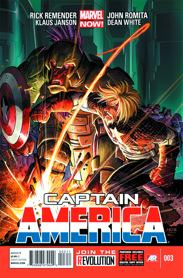 CAPTAIN AMERICA #3 NOW