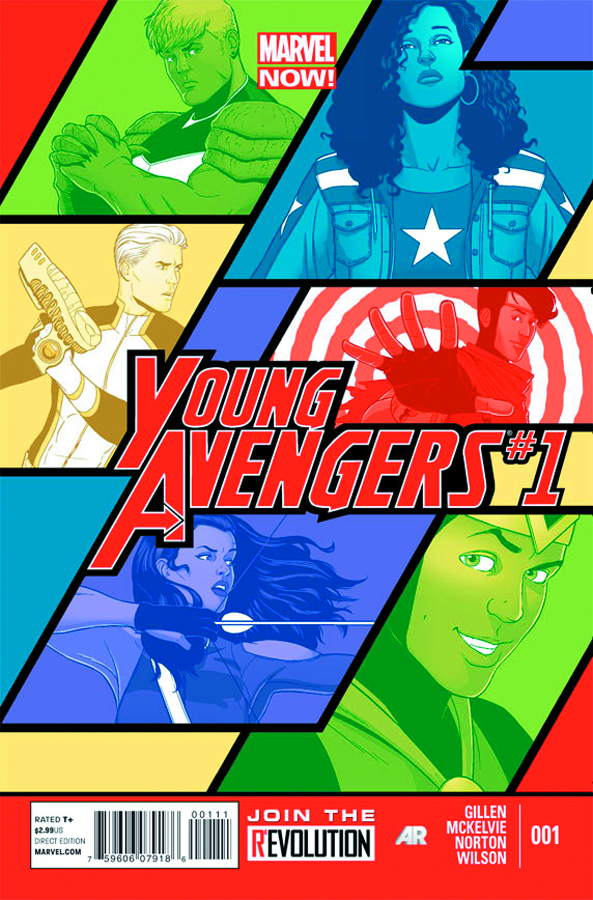YOUNG AVENGERS #1 NOW