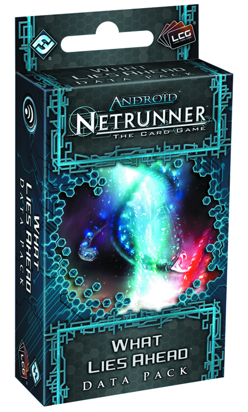 ANDROID NETRUNNER LCG WHAT LIES AHEAD DATA PACK