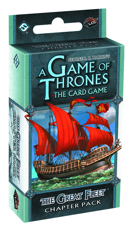 GAME THRONES LCG THE GREAT FLEET CHAPTER PACK