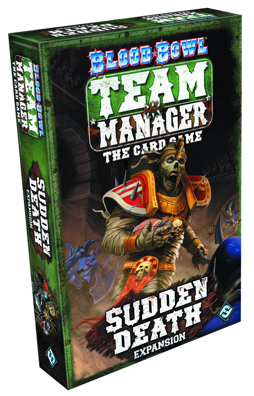 BLOOD BOWL TEAM MANAGER CARD GAME SUDDEN DEATH EXP