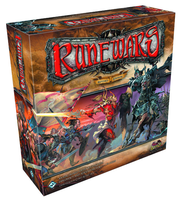 RUNEWARS BOARD GAME REVISED ED
