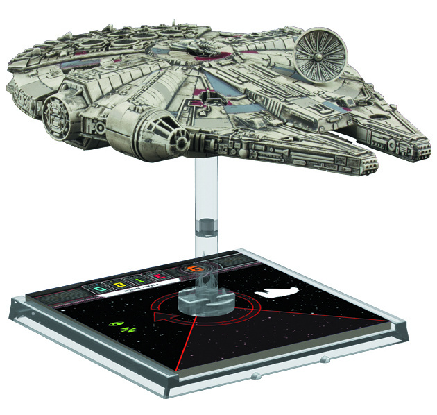 STAR WARS X-WING MINIS GAME MILLENNIUM FALCON EXP PACK