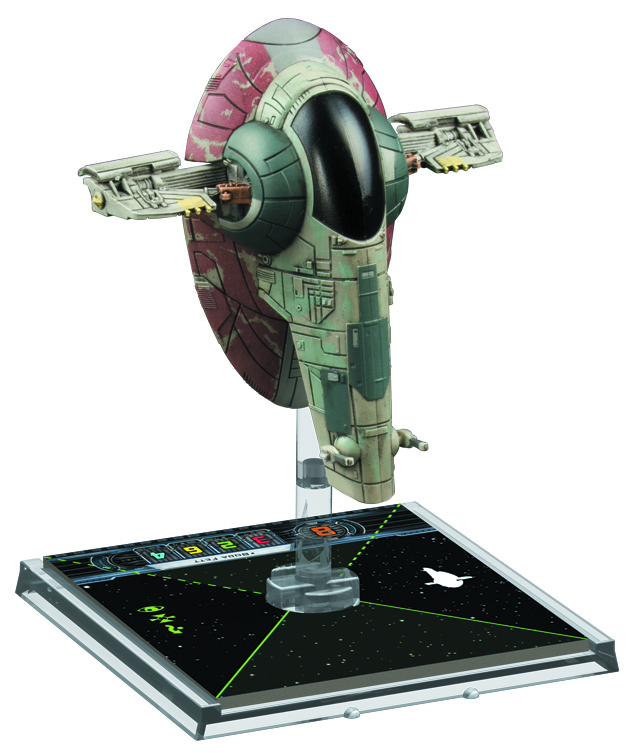STAR WARS X-WING MINIS GAME SLAVE-I EXP PACK