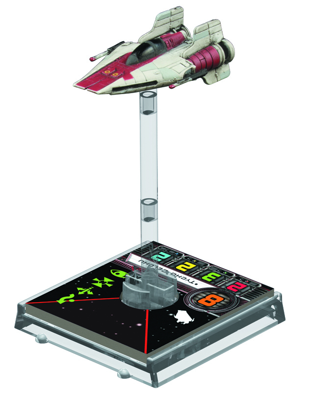 STAR WARS X-WING MINIS GAME A-WING EXP PACK