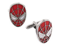SPIDER-MAN HEAD CUFFLINKS