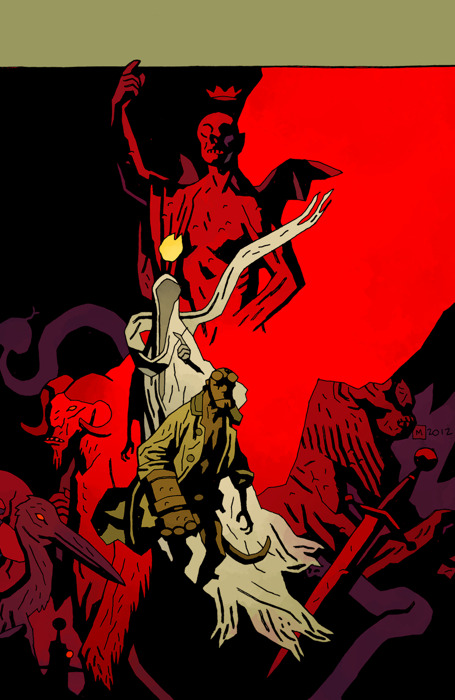 (USE NOV128236) HELLBOY IN HELL #2