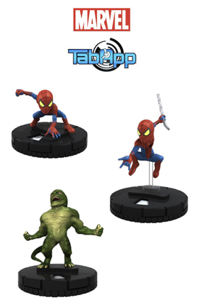 MARVEL HEROCLIX AMAZING SPIDER-MAN TAB APP PACK