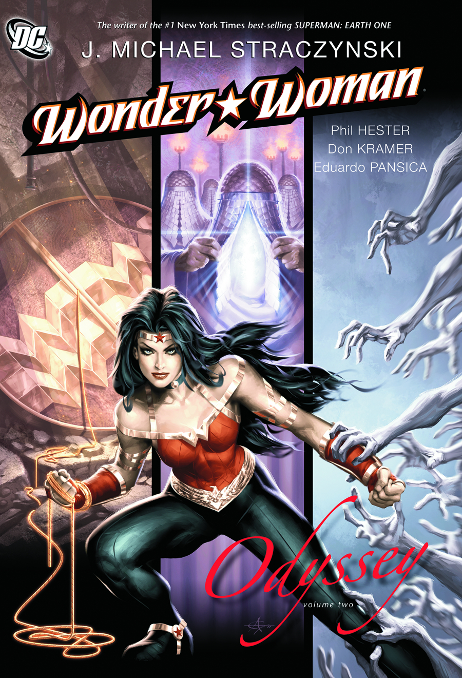 WONDER WOMAN ODYSSEY TP VOL 02